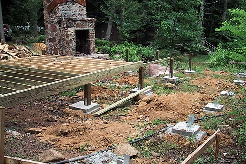 Cabin Foundation Plan Pdf Woodworking